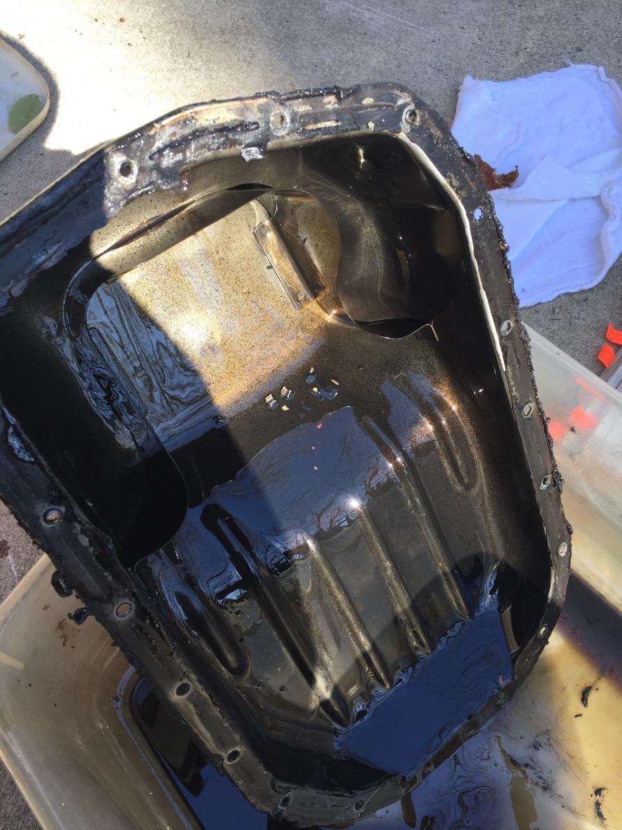 Oil Pan Cleaning 2 0L G63B
