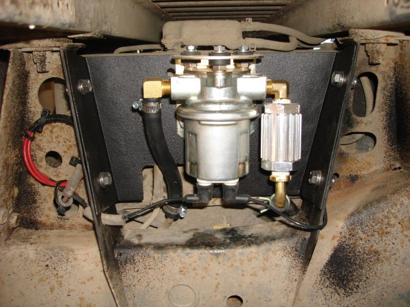My Electric fuel pump install