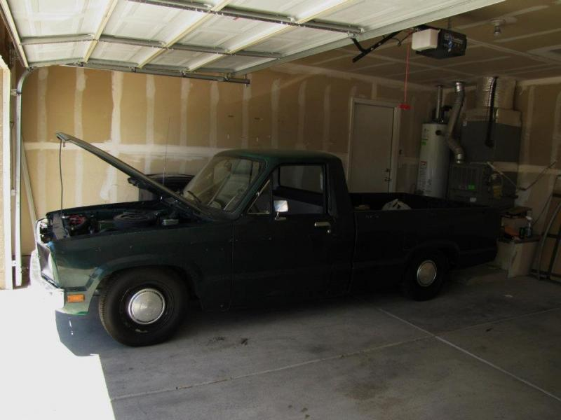 1978 Ford Courier Build