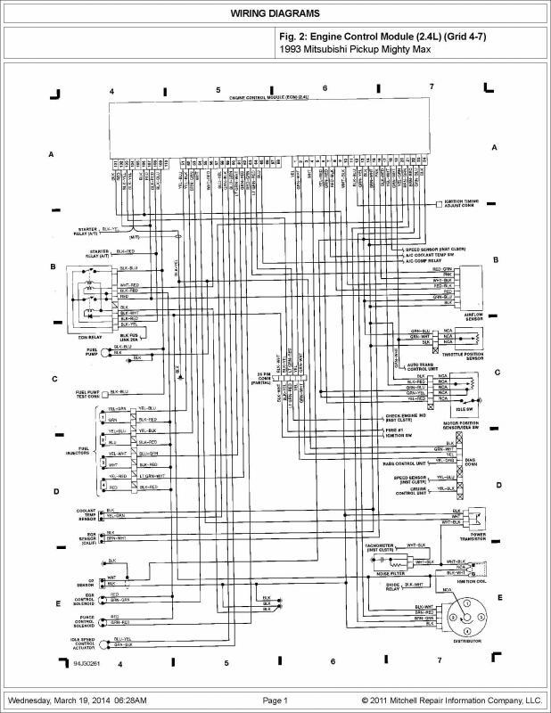 1993 mitsubishi wiring diagram 1993 free wiring diagrams