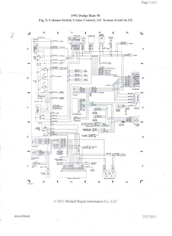 mitsubishi mighty max wiring diagram discover your i gotta ac problem ram 50 radio wiring ram wiring diagrams