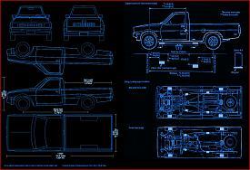 Click image for larger version.  Name:79 to 86_Mitsubishi_Pickup_Truck_blueprints.jpg Views:74 Size:234.2 KB ID:19871